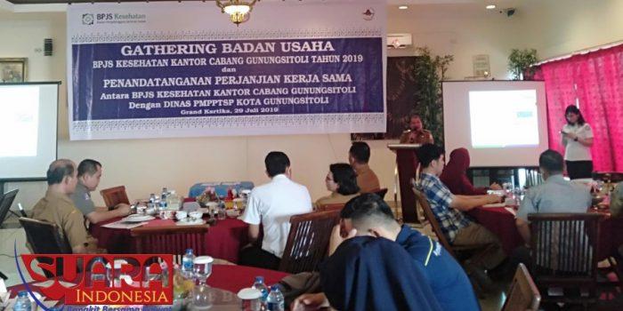 Bpjs Kesehatan Cabang Gunungsitoli Laksanakan Gathering Badan Usaha Suara Indonesia News